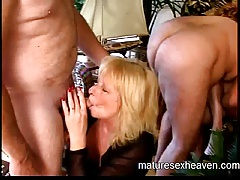 Granny's Mature Carnal knowledge Party Part 1