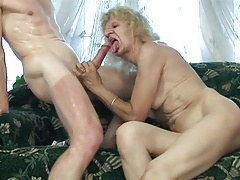 granny fucked in her soften pussy