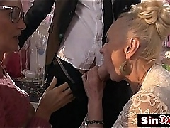 Crazy Italian Talents Resolution XXX Fucktory - Outrageous Duplicate Granny Blowjob